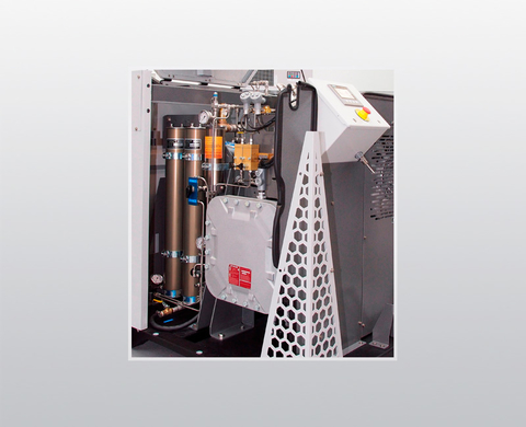 P5 high-pressure gas treatment system