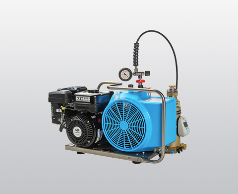 BAUER OCEANUS breathing air compressor with petrol engine