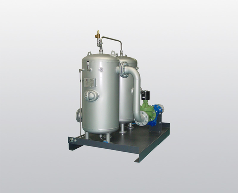Intake buffer and condensate vessels