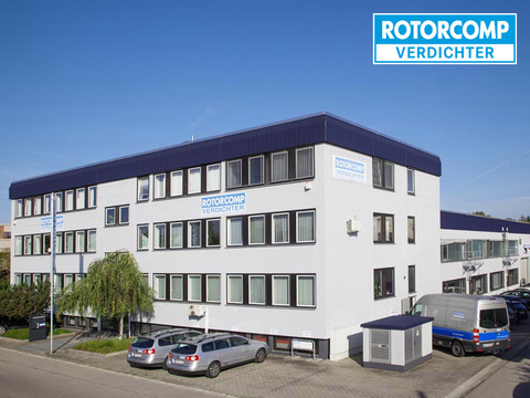 Company building of ROTORCOMP VERDICHTER GmbH