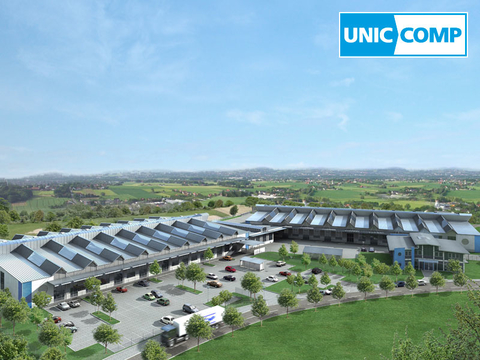 Company building of  UNICCOMP GmbH